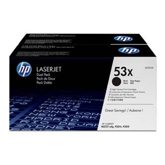 HP Q7553XD Toner Cart pro LJ P2015 , M2727 (2x7000 stran) 2 pack