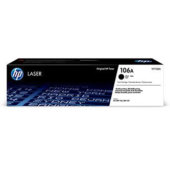 HP originální toner W1106A, black, HP 106A, HP LaserJet MFP 137