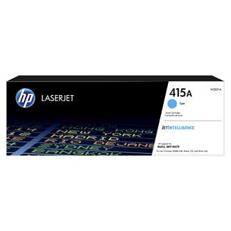 HP originální toner W2031A, cyan, 2100str., HP 415A, HP Color LaserJet Pro M454, MFP M479