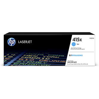 HP originální toner W2031X, cyan, 6000str., HP 415X, HP Color LaserJet Pro M454, MFP M479