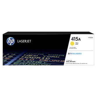 HP originální toner W2032A, yellow, 2100str., HP 415A, HP Color LaserJet Pro M454dn, MFP M479