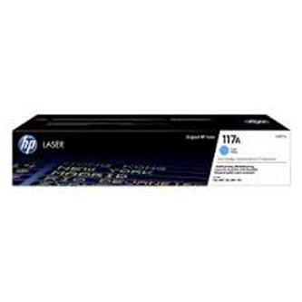 HP originální toner W2071A, cyan, 700str., HP 117A, HP Color LaserJet MFP179 Series