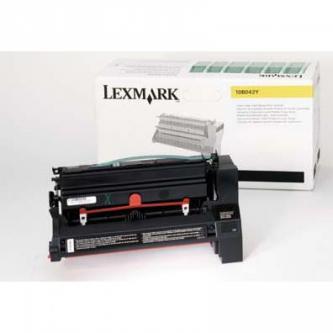 Lexmark originální toner 10B042Y, yellow, 15000str., return, Lexmark C750