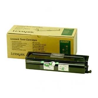 Lexmark originální toner 11A4097, black, 10000 (2x5000)str., Lexmark Optra K1220, 2ks
