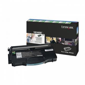 Lexmark originální toner 12016SE, black, 2000str., return, Lexmark E120
