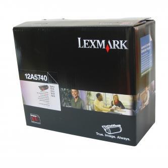 Lexmark originální toner 12A5740, black, 10000str., Lexmark Optra T, T610, T612, T614, T616