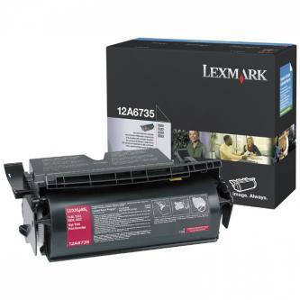 Lexmark originální toner 12A6735, black, 20000str., Lexmark T520, T522, X520, X522s
