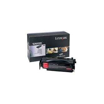 Lexmark originální toner 12A8320, black, 6000str., Lexmark T430