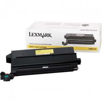 Lexmark originální toner 12N0770, yellow, 14000str., Lexmark Optra C910, C912, X912e