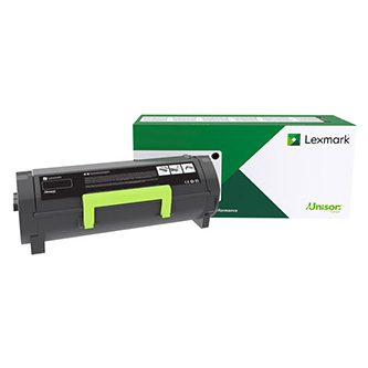 Lexmark originální toner 53B2H00, black, 25000str., return, high capacity, Lexmark MS817dn, MS817n, MS818dn