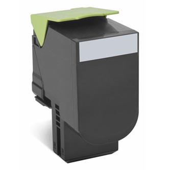 Lexmark originální toner 70C20K0, black, 1000str., return, Lexmark CS510de, CS410dn, CS310dn, CS310n, CS410n