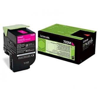 Lexmark originální toner 70C20M0, magenta, 1000str., return, Lexmark CS510de, CS410dn, CS310dn, CS310n, CS410n