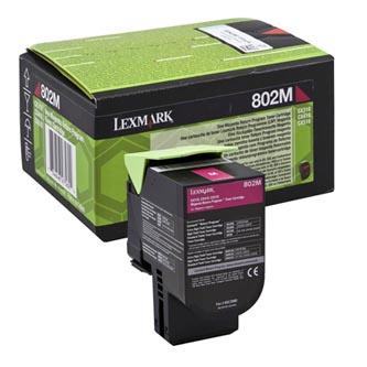 Lexmark originální toner 80C20M0, magenta, 1000str., return, Lexmark CX310dn, CX310n, CX410de, CX410
