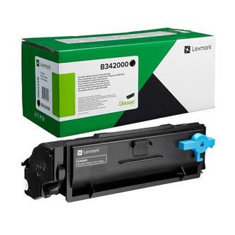 Lexmark originální toner B342000, black, 1500str., return, Lexmark B3340dw, B3442dw, MB3442adw, O