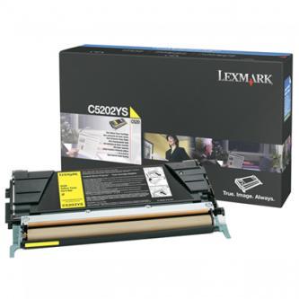 Lexmark originální toner C5202YS, yellow, 1500str., Lexmark C530, O
