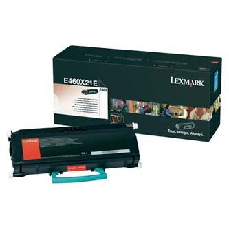 Lexmark originální toner E460X31E, black, 15000str., extra high capacity, Lexmark E460