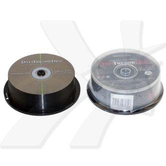 DataTresorDisc DVD+R, 25-pack, 4.7GB, 4x, 12cm, General, Standard, cake box, bez možnosti potisku, pro archivaci dat