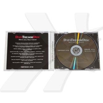 DataTresorDisc DVD+R, 1 ks, 4.7GB, 4x, 12cm, General, Standard, jewel box, bez možnosti potisku, pro archivaci dat