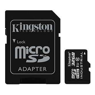 Kingston Micro Secure Digital card, 32GB, micro SDHC, SDCIT/32GB, UHS-I U1 (Class 10), s adaptérem