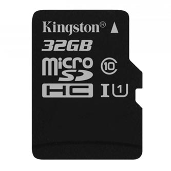 Kingston paměťová karta Canvas Select, 32GB, micro SDHC, SDCS/32GBSP, UHS-I U1 (Class 10), bez adaptéru