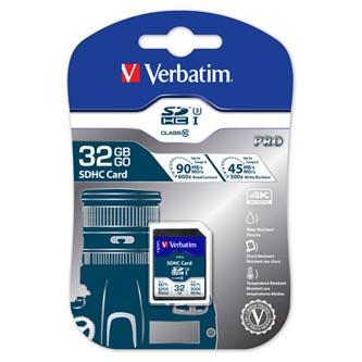 Verbatim paměťová karta SDXC Pro, 32GB, SDXC, 47021, UHS-I U3