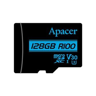 Apacer paměťová karta Secure Digital, 128GB, micro SDXC, AP128GMCSX10U7-RA, UHS-I U3, V30, bez adaptéru