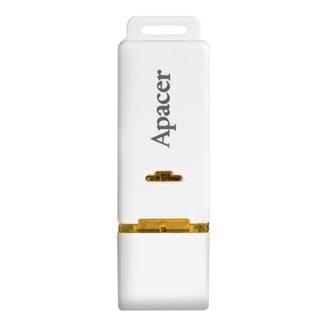 Apacer USB flash disk, 2.0, 4GB, AH223, bílý, AP4GAH223W-1, s krytkou