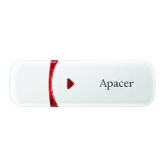 Apacer USB flash disk, 2.0, 4GB, AH333, bílý, AP4GAH333W-1, s krytkou