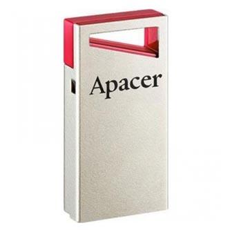 Apacer USB flash disk, USB 2.0, 16GB, AH116, černý, AP16GAH116B-1, USB A, s krytkou