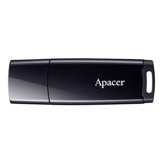 Apacer USB flash disk, USB 2.0, 16GB, AH336, bílý, AP16GAH336W-1, USB A, s krytkou