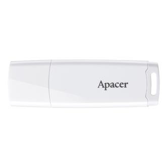 Apacer USB flash disk, USB 3.0 (3.2 Gen 1), 16GB, AH350, černý, AP16GAH350B-1, USB A, s výsuvným konektorem