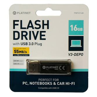 Toshiba USB flash disk, USB 3.0 (3.2 Gen 1), 16GB, U303, bílý, THN-U303W0160E4, USB A