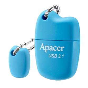 Apacer USB flash disk, USB 3.0 (3.2 Gen 1), 32GB, AH159, modrý, AP32GAH159U-1, USB A, s krytkou