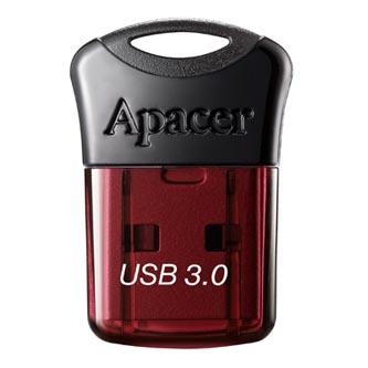 Apacer USB flash disk, USB 3.0 (3.2 Gen 1), 32GB, AH157, červený, AP32GAH157R-1, USB A, s krytkou