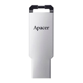 Apacer USB flash disk, 2.0, 32GB, AH310, stříbrná, AP32GAH310S-1, s poutkem na zavěšení