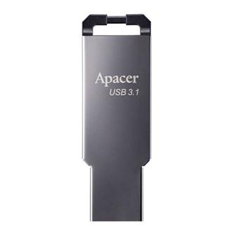 Apacer USB flash disk, USB 3.0 (3.2 Gen 1), 32GB, AH360, stříbrný, AP32GAH360A-1, s poutkem