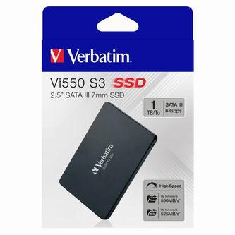 Interní disk SSD Verbatim SATA III, 1TB, Vi550, 49353 535 MB/s,560 MB/s
