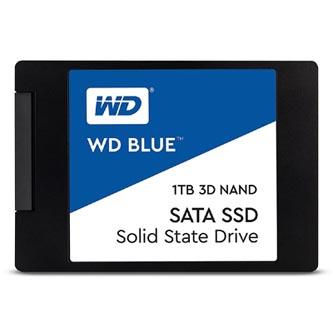 """SSD Western Digital 2.5"""", SATA III, 1000GB, GB, WD Blue, WDS100T1B0A 530 MB/s,560 MB/s"""