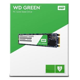 SSD Western Digital M.2 SATA III, M.2 SATA III, 120GB, GB, WD Green, WDS120G1G0B 430 MB/s,540 MB/s
