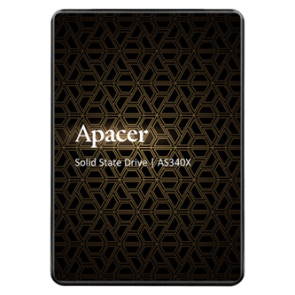 "SSD Apacer 2.5"", SATA III, 240GB, GB, AS340, AP240GAS340G-1 černý, 490 MB/s,550 MB/s, Panther"