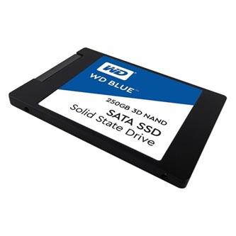 """SSD Western Digital 2.5"""", SATA III, 250GB, GB, WD Blue 3D NAND, WDS250G2B0A 525 MB/s,550 MB/s"""