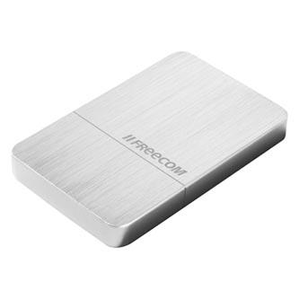 Externí disk SSD Freecom USB 3.1, 512GB, GB, mSSD MAXX, 56394 stříbrná, 700 MB/s,700 MB/s