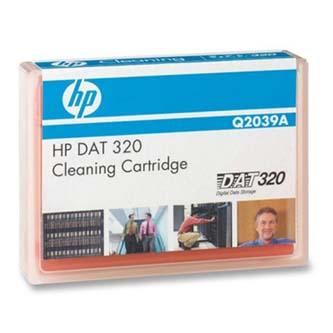 HP čistící kazeta - DAT 320 SAS Internal Tape Drive, 320/GB 320GB, oranžová, Q2039A, pro archivaci dat