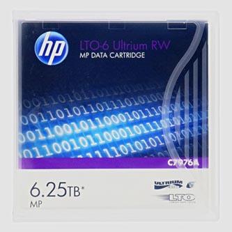 HP LTO-6 Ultrium, TB 6,25TB, C7976A, pro archivaci dat