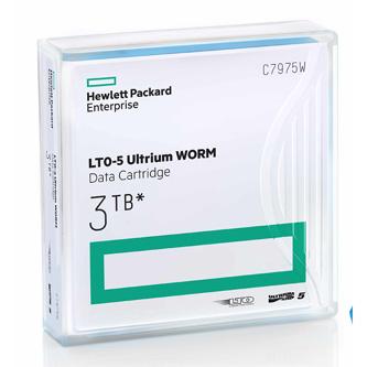 HP LTO Ultrium WORM 5, 1500 (1,5 TB)/GB 3000 (3 TB)GB, labeled, světle modrá, C7975AW, pro archivaci dat