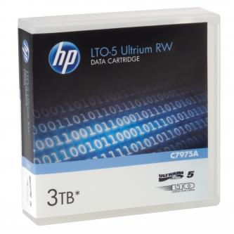 HP Ultrium RW LTO 5, 1100 (1,1 TB)/GB 3000 (3 TB)GB, světle modrá, C7975A, pro archivaci dat