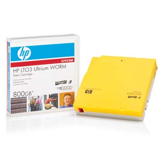 HP Ultrium WORM, 400/GB 800GB, zlatá, C7973W, pro archivaci dat