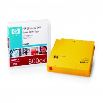 HP Ultrium RW, 400/GB 800GB, zlatá, C7973A, pro archivaci dat