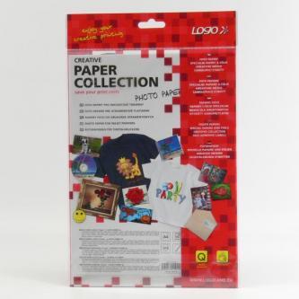Logo foto papír, lesklý, bílá, A4, 210 g/m2, 2880dpi, 10 ks, 15015, inkoustový