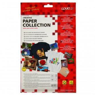 Logo foto papír, lesklý, bílý, A4, 260 g/m2, 2880dpi, 10 ks, 16066, inkoustový